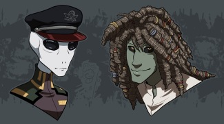 Jaruka and Brill Busts